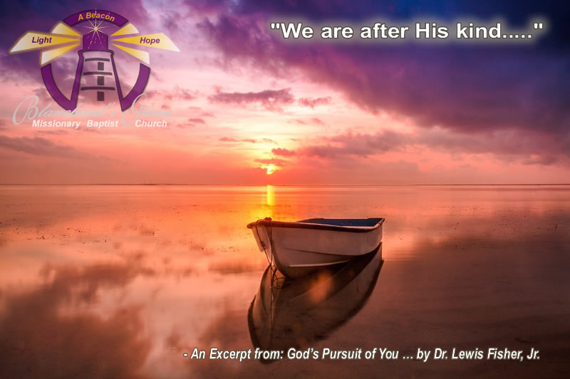 All God, All Man…We are after His kindPicture
